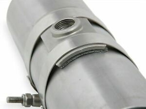 Hooker Headers 71014302-R O2-Sensor Clamp-On Fitting Fits 2-1/2 Exhaust Pipe