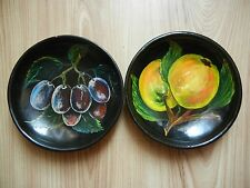 Rare soviet USSR plate WALL ART PICTUR Fruits grapes apples Painting