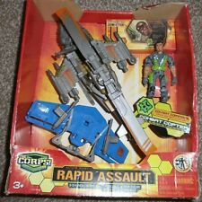 The Corps - Rapid Assault - Combat Copter - Covert Command - Action Figure Set
