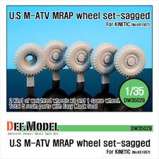 Def. modelo, EE. UU. M-ATV MRAP hundida juego de ruedas, DW35029, 1:35