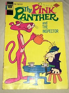 THE PINK PANTHER and the inspector bronze age DOUBLE COVER whitman # 22
