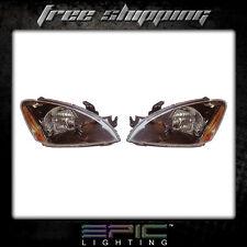 Fits 2004-07 Mitsubishi Lancer Headlights Headlamps Pair Left right set