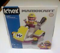 Nintendo K'Nex Mariokart Wario Building Kit 43 Piece 38230 NIB