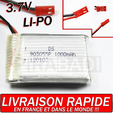 1 ACCU BATTERIE LI-PO DS 3.7V 1000Mah PCM 120103 LIPO BATTERY + CONNECTEUR • PRO
