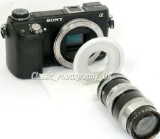 16mm C-Mount Lens to SONY NEX E-Mount Adapter ZEISS Schneider Lenses on Sony NEX