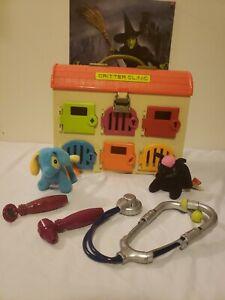 Battat B. Critter Clinic Vet Animal Hospital Vintage Toy House