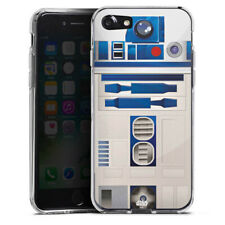 Apple iPhone 7 Silikon Hülle Case - R2D2 Closeup