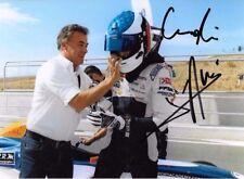 Guilano & Jean Alesi signed, Formula 4 portrait 2016
