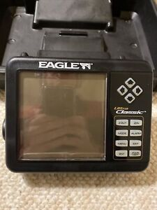Eagle Ultra Classic Fishfinder Fish Finder Mint Condition With Case (unit Only)