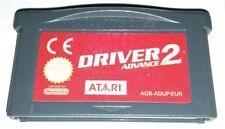 DRIVER 2 CORSE AUTO - NINTENDO DS LITE Game Boy Advance Gioco Bambini Bimbi 3Ds