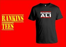MUHAMMAD ALI  T Shirt The Greatest Cassius Clay Legend