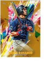 Eddie Rosario 2020 Topps Inception 5x7 Gold #89 /10 Twins