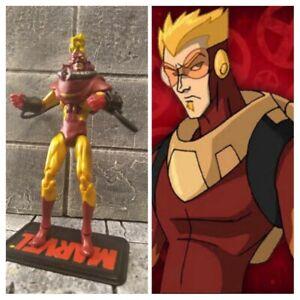Marvel comics custom action figure 3.75 Pyro xmen enemy