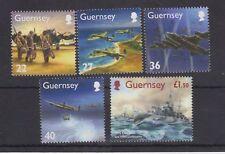 GUERNSEY Stamp Set 2003 MNH SG 979-983 Memories of World War II WWII