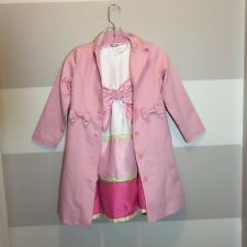 Gymboree  Dress And Jacket Brand New Pink Girls Size 5-6 Pink Summer Wedding