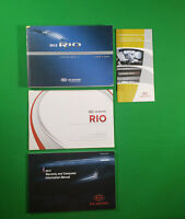 2013 KIA RIO OWNERS MANUAL OEM KIT SET SX LX EX SEDAN HATCHBACK OWNER 13 GUIDE