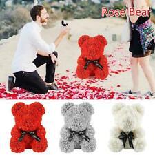 25cm Rose Flower Bear Eternal Heart Wedding Valentine's Day Birthday Gift