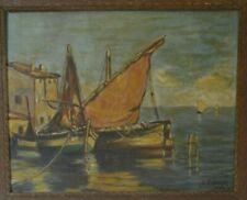 Peinture Huile sur bois Marine