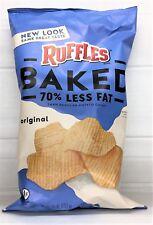 Ruffles Oven Baked Original Potato Chips 6.25 oz