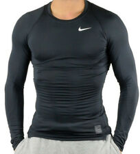 Nike Cool Comp LS XXL 010 Black/dark Grey/white