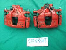 COPPIA pinze freno Originali Fiat  500 Abarth 1,4 ESSEESSE