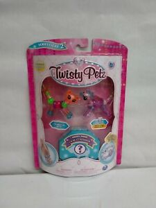 Twisty Petz Series 2 Rosie Poodle Limited Ed. Chi-Chi Cheetah+Surprise 3 PK NEW