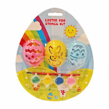 Easter Arts and Crafts, Egg Decorating, Craft Kits - Egg Stencil Kit