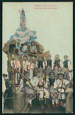 Portugal Braga Festas de Sao Joao Carro dos Pastores original 1910s postcard