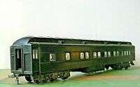 Athearn Clerestory Coach ~ Pullman Chair car - Black - Undecorated - HO