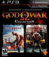 God of War Collection (Sony PlayStation 3, 2009) Complete