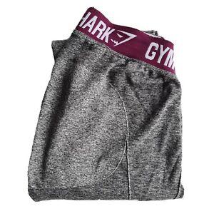 Gymshark Women's Grey Leggings Size M Gym Yoga Run Active