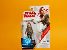 Star Wars The Last Jedi Force Link 3 3/4 Inch Jyn Erso (Jedha) Action Figure