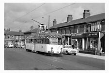 pt9056 - Blackpool Tram 293 on Dickson Road - photograph