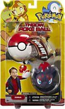 Pokemon HeartGold & Soulsilver HS Series 15 Zorua Throw Poke Ball Plush