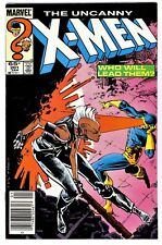 UNCANNY X-MEN #201(1/86)1:BABY NATHAN(*CABLE)NEW MUTANTS(NEWSSTAND)CGC IT(VF/VF+