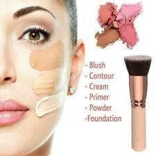 Flat Top Foundation Brush Large Face Brush for Liquid Cream Powders Rose Gold
