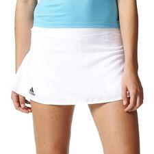 ADIDAS B45837 Tennis CLUB SKIRT White Moisture-wicking climalite fabric ( S )