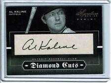 HOF'er AL KALINE signed AUTO AUTOGRAPH card low serial # 4/10 Detroit Tigers