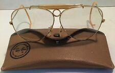 B&L Ray-Ban 1950's Vintage Shooting/ Aviator Sunglasses USA