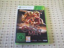 Of orcos and Men para Xbox 360 xbox360 * embalaje original *