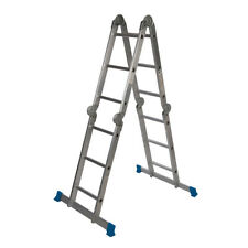 Genuine Silverline Multipurpose Ladder with Platform 3.6 M 12-Tread | 953474