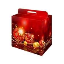 SCATOLA cartone CONFEZIONE natalizia  28x20 h35