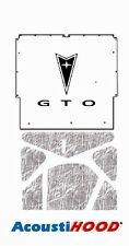1965 1966 Pontiac GTO Under Hood Cover with G-041 GTO