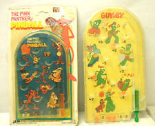 1980 UAC Geoffrey The Pink Panther Pinball Game Unused Hong Kong + Free Gumby