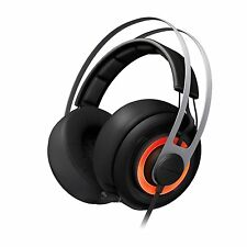 SteelSeries Siberia Elite Gaming Headset w/Dolby 7.1 Surround Sound +USB (Black)