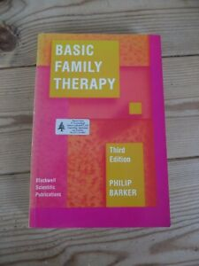 Basic Family Therapy by Philip Barker (paperback 1992)