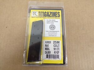 Colt Style 1911 Government Magazine by Triple K #25M