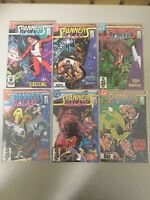 Complete Run Set of Spanners Galaxy (1984) #1-6 VF-NM Near Mint DC Comics