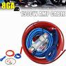Power Car SoundBox 8 Gauge AWG Amplifier Install Wiring Kit Amp Cables 1500WATT