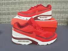 Nike Air Max BW Classic Red/White UK 9 Men's Trainers 2015